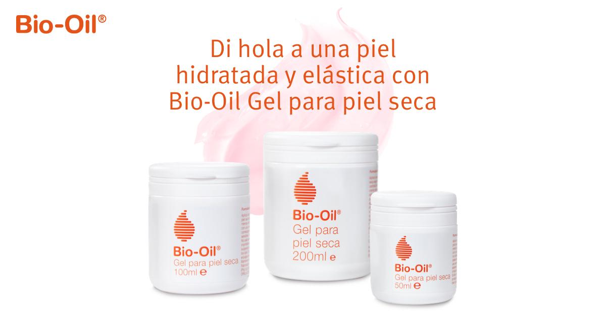Di hola a una piel hidratada y elástica con Bio-Oil Gel para piel seca