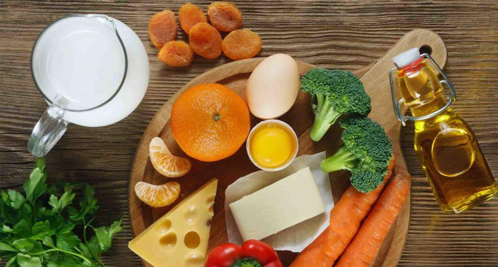 alimentos con vitamina A para la piel