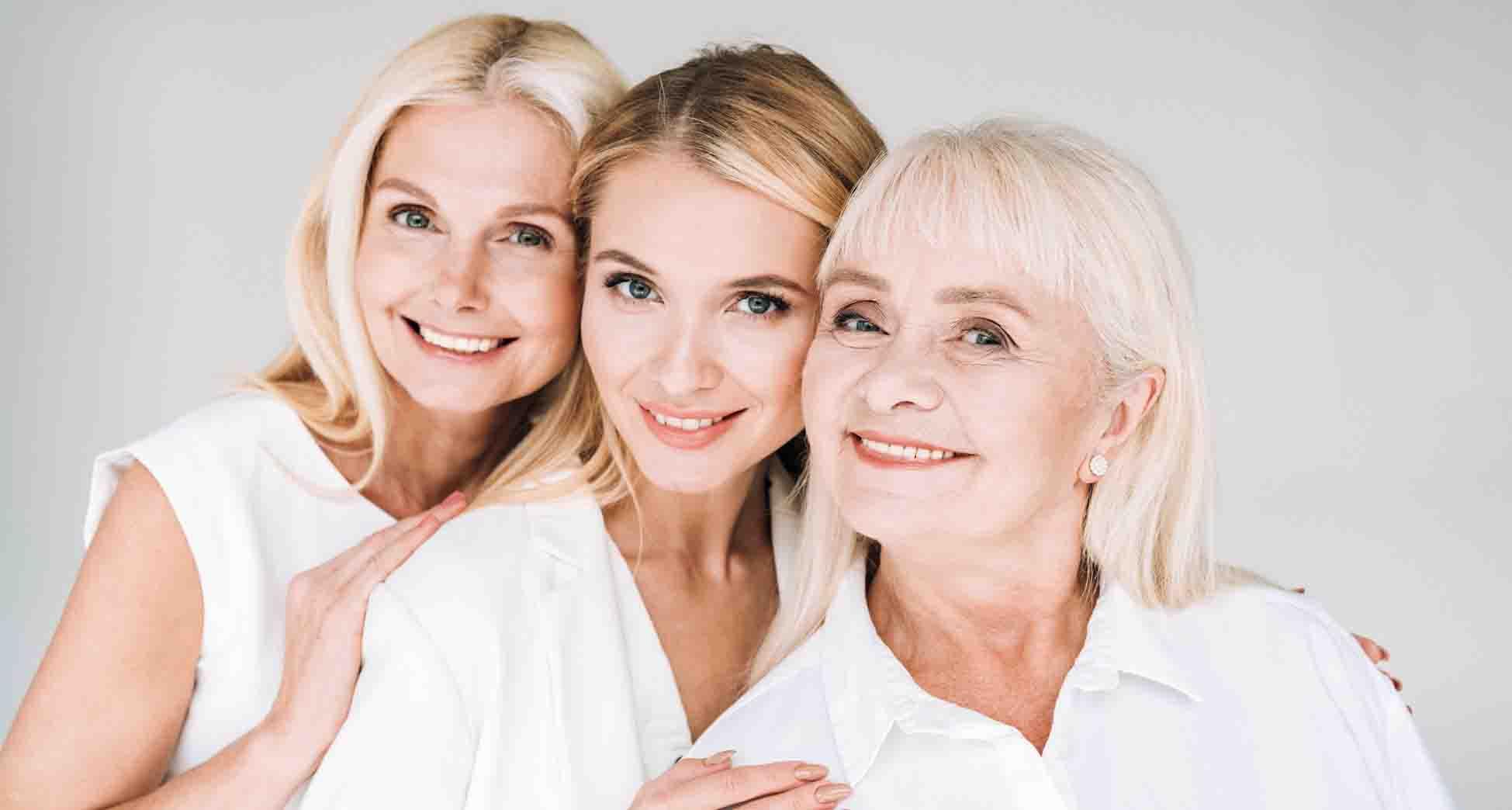 Claves para cuidar la piel según la edad