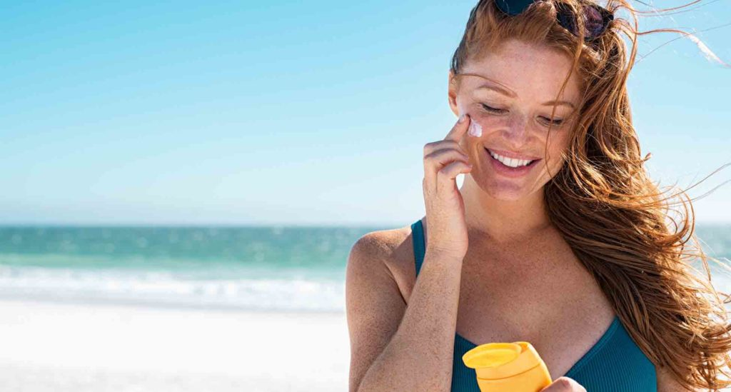 protección solar en la piel